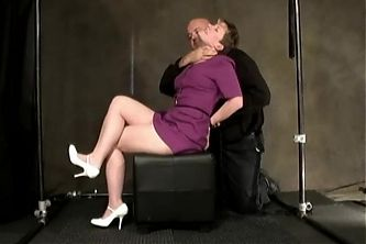 Butch Dyke tied up and slapped around, female orgasm control