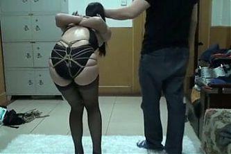 Asian Bondage Hogtied